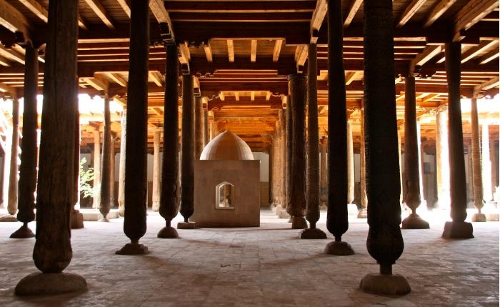 à voir à khiva en ouzbékistan, incontournables khiva, itchan kala, kunya ark, madrasa, séjour ouzbékistan, la mosquée djouma