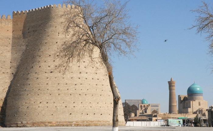 à voir à boukhara, artisanat ouzbékistan, couteaux, météo boukhara, sites incontournables, tapis, tchor minor, la citadelle d'ark