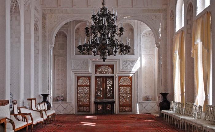 à voir à boukhara, artisanat ouzbékistan, couteaux, météo boukhara, sites incontournables, le palais sitori-i-mokhi