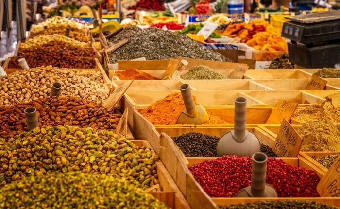 marché bali shopping à bali épices sanur