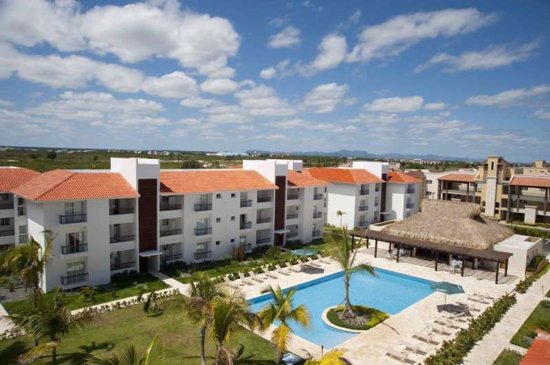 vue piscine hotel karibo punta cana