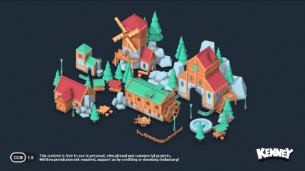 Fantasy Town Kit OpenGameArt org