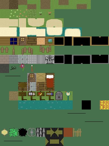 32X32 tile pixel art tilesheet  OpenGameArtorg