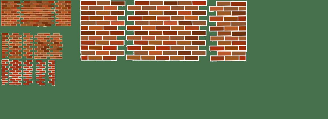 Brick patterns  OpenGameArtorg