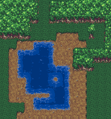 16x16 tileset with water dirt  forest  OpenGameArtorg