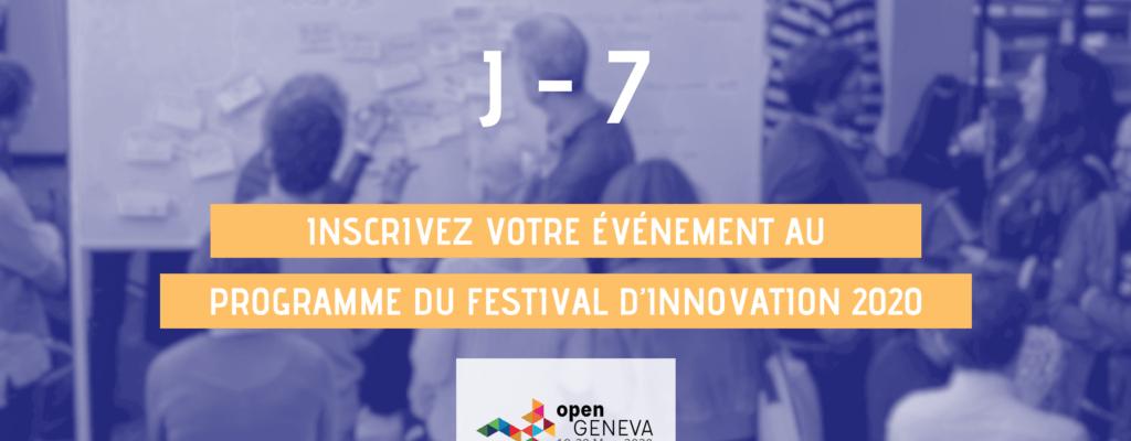 J-7 organisateurs open geneva 2020