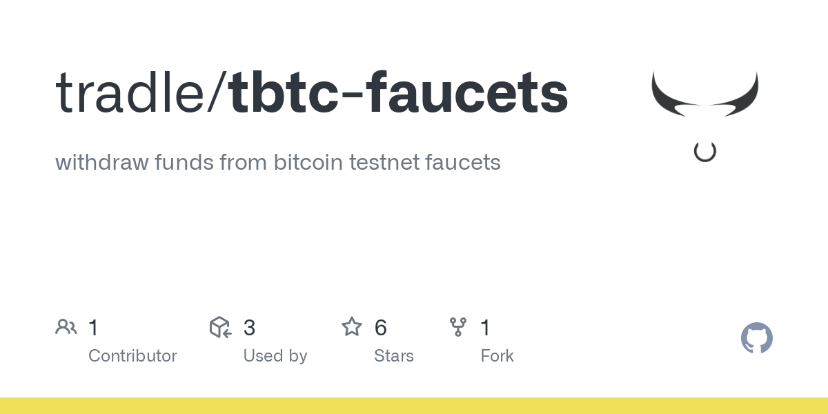 github tradle tbtc faucets withdraw