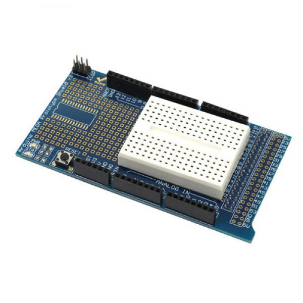 Breadboard Plus Solderless Breadboard For Circuit Design Virtuabotix