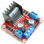L298N Dual H Bridge DC Stepper Motor Controller for Arduino