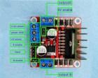 Dual H Bridge Motor Drive Controller L298N 5V 2-Channel pins