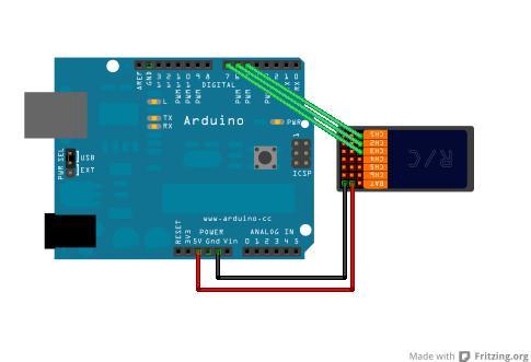 Cómo usar receptores de Radio control (RC Hobby Controllers) con Arduino