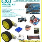 Arduino Kit : Manejo de motores y servos, componentes de robot