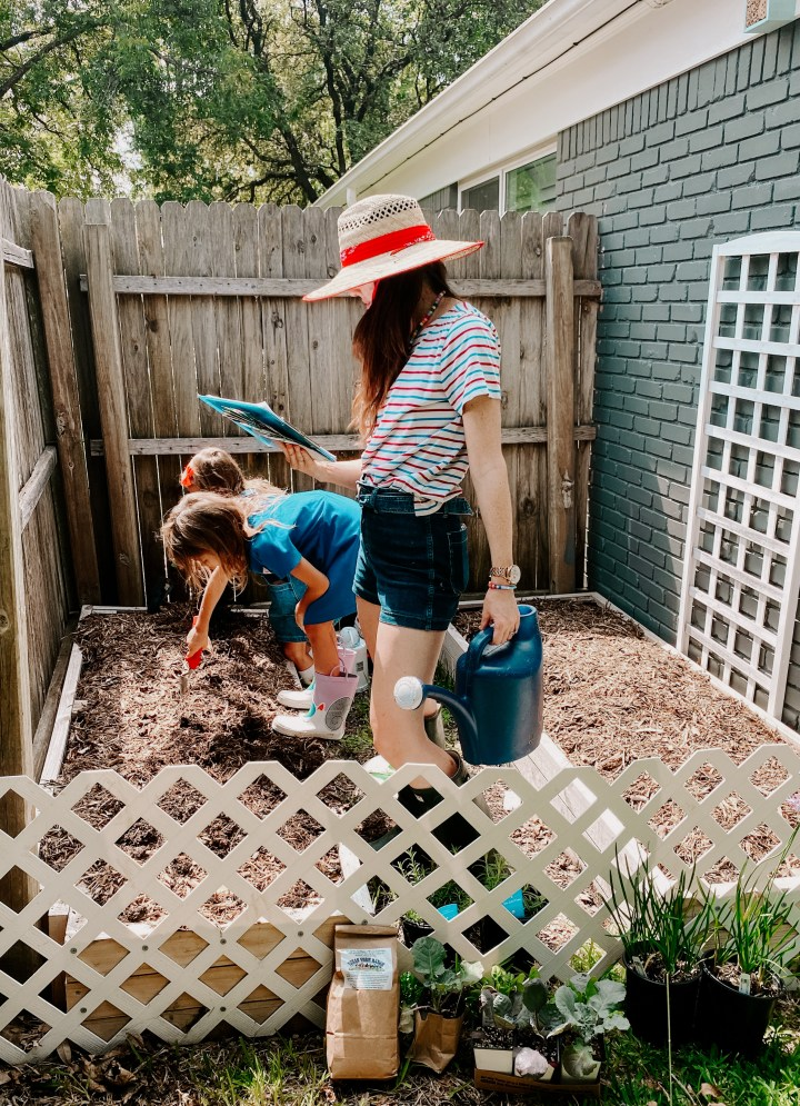 how to start gardening with kids