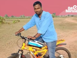warangal-man-has-a-fuel-free-commute-with-solar