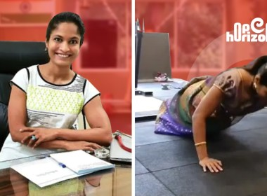 pune-woman-in-saree-does-push-ups-and-weight-training