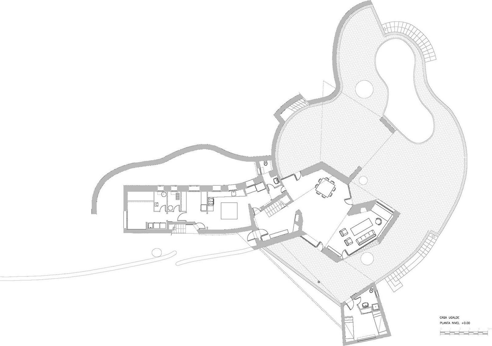 a perfect retreat : architecture : casa ugalde : 1953