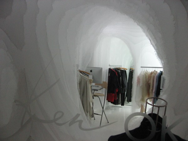 Cut Cloud Fashion Interior Design Ken Okada