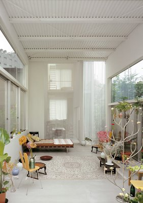 outdoor living room  architecture  ryue nishizawa
