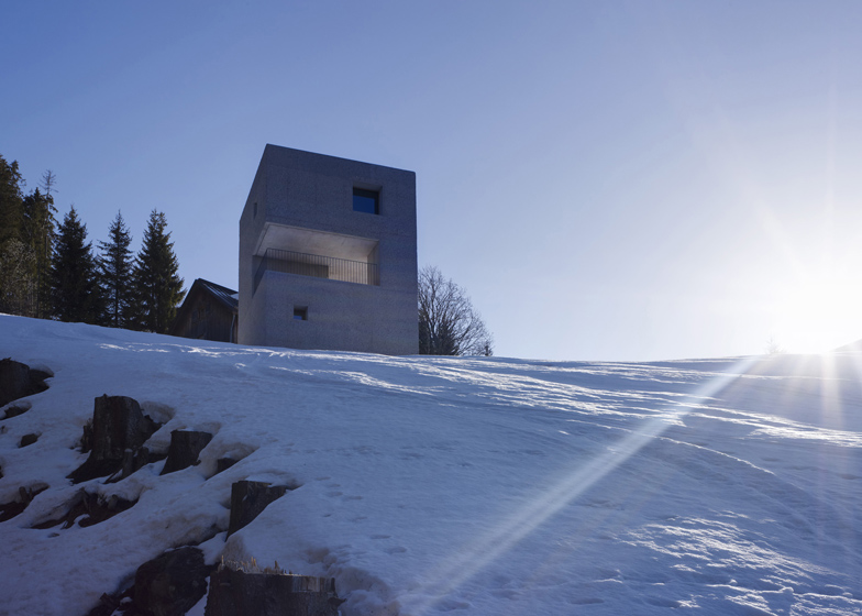 ice cube  architecture  mountain cabin by MarteMarte