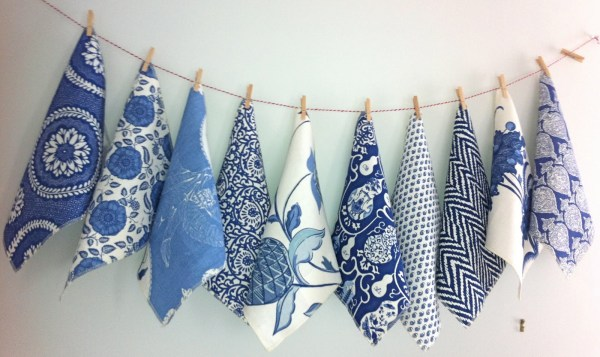 Raoul Textiles Blues and White's