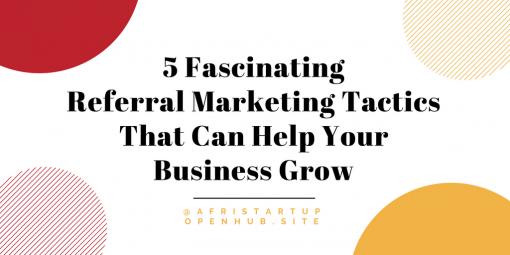 referral marketing tactics