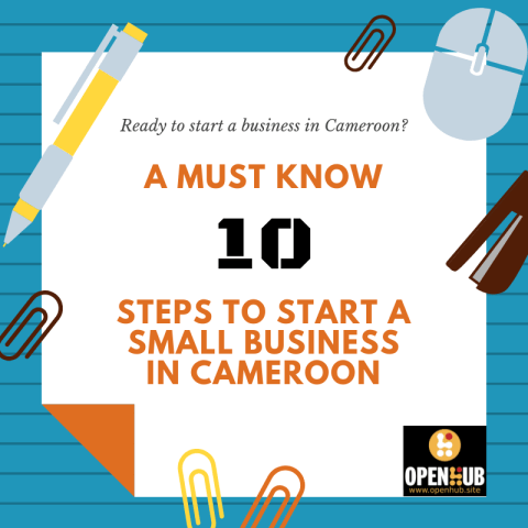Start a small business in Cameroon