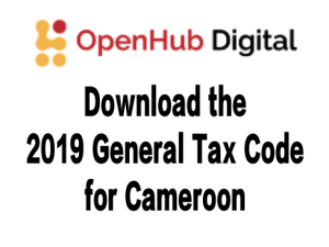 1029 Cameroon General Tax Code