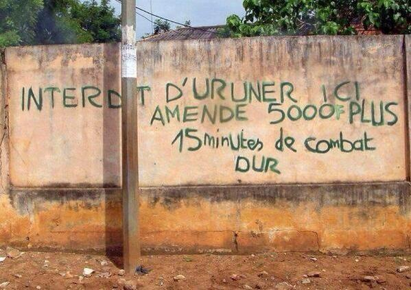 scare Cameroonians