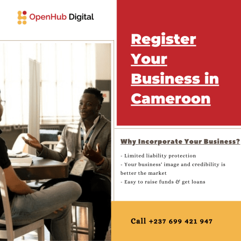 Register your private limited company in Cameroon