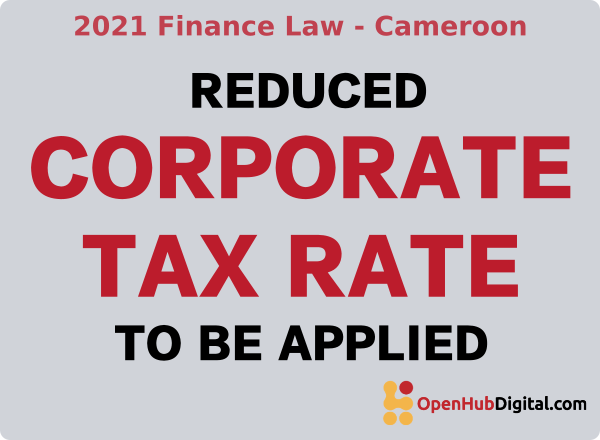 corporate tax rate