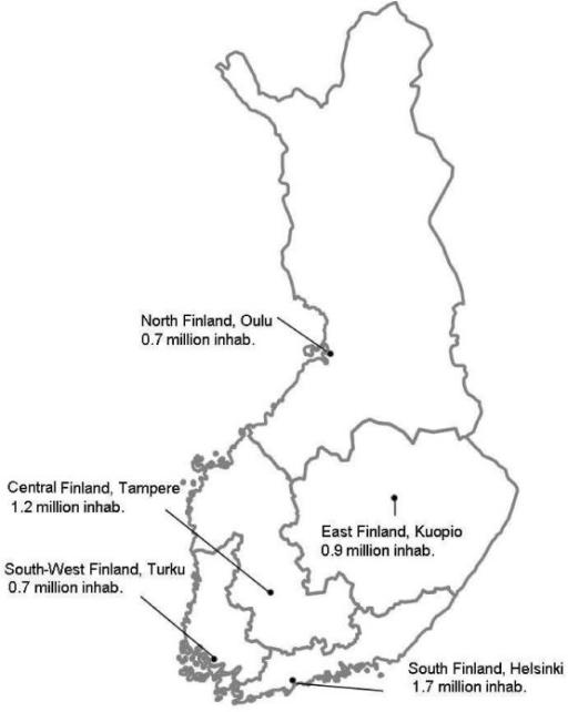 Figure 1:Oral Health Care Reform in Finland