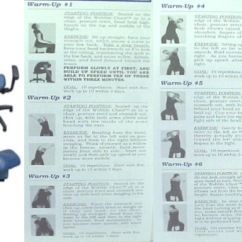 Portable Wobble Chair Exercises White Club Figure 1 Shows An Illustration Of Both The Stationary A | Open-i