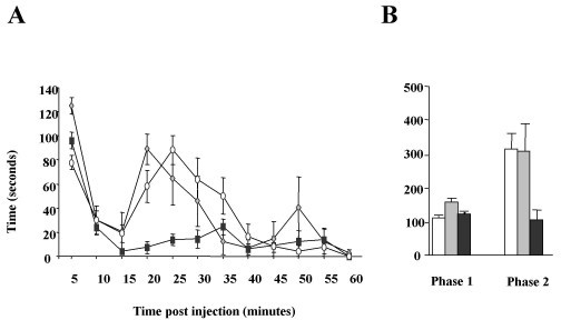 Figure 4:Neuropathic pain develops normally in mice