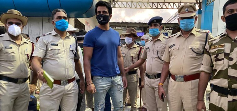 Airforce Salute to Sonu Sood