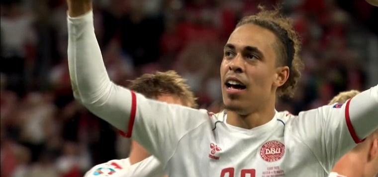 Euro 2020 Denmark Rises