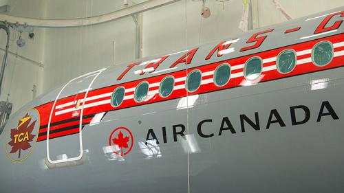 Air Canada A220 Retro livery