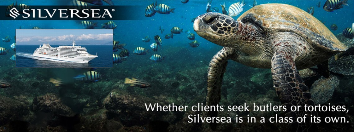 Whether clients seek butlers or tortoises, Silversea is in a class of its own