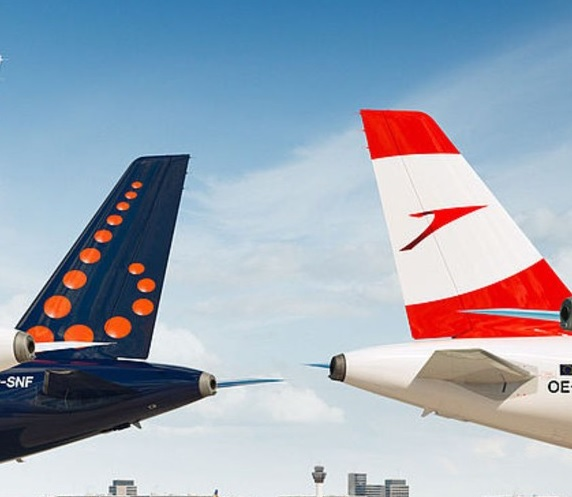 Burssels and Austrian Airlines