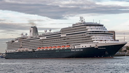 Holland America Line ship.