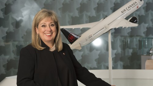 Lucie Guillemette, President, Air Canada Vacations, and Executive Vice President/Chief Commercial Officer, Air Canada.