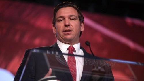 Florida Governor, Ron DeSantis.
