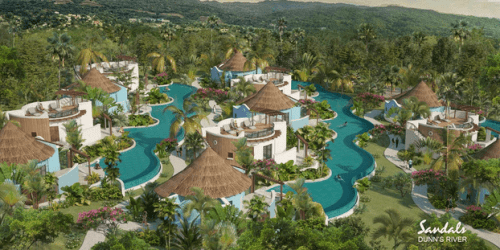 Rondoval Suites at Sandals Dunn's River (rendering)