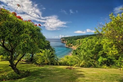 Stunning view of a Montserrat beach.