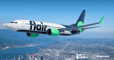 Flair Airlines Receives 1st 737 MAX 8