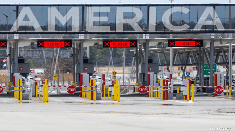US border to remain closed due to delta variant