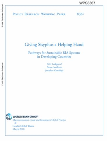 Giving Sisyphus a Helping Hand : Pathways for Sustainable RIA ...
