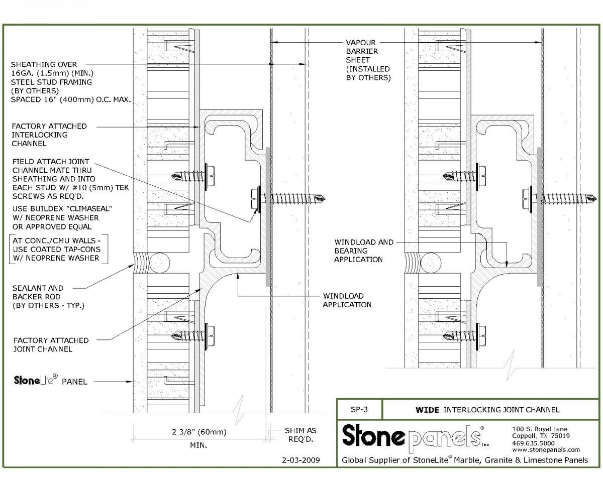 Aluminum Honeycomb Stone Veneer Panel (Najah)