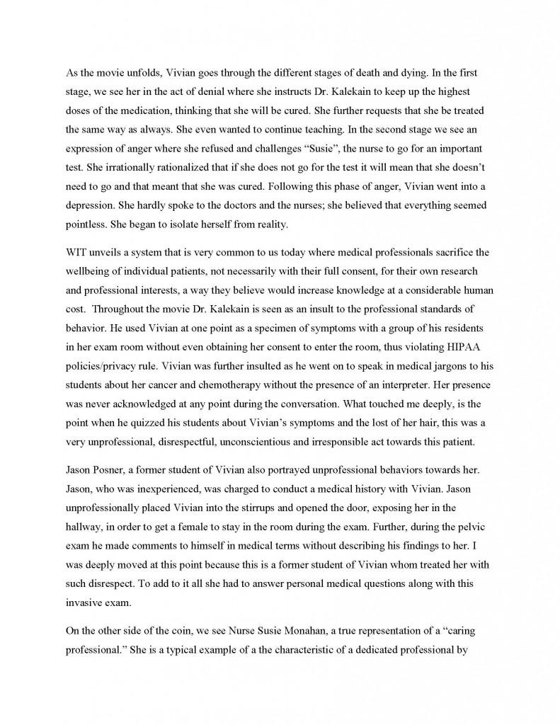 Academic Examples KIM COPPIN DOUGLAS's EPortfolio