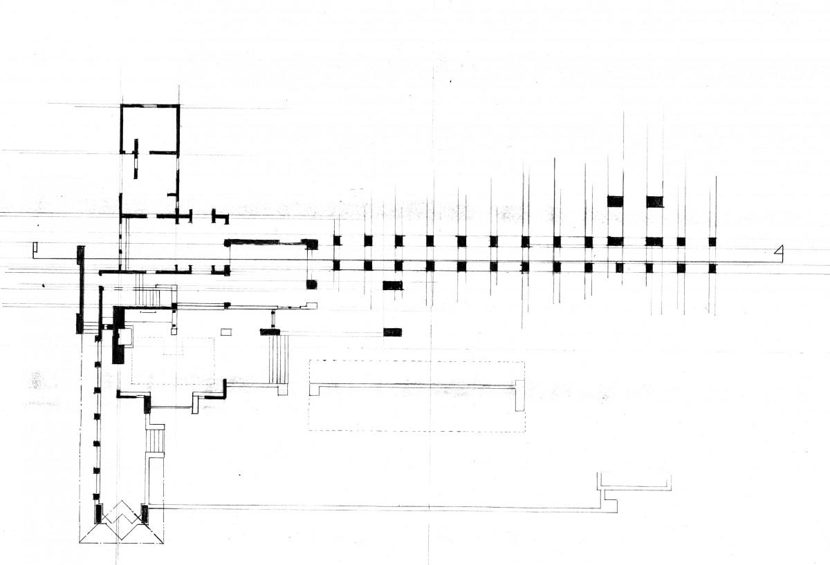 Ennis House Floor Plan