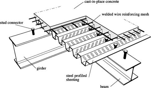 STEEL COLUMN CONCRETE SLAB DETAIL